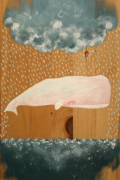 whale 30 Ilustraciones en la lluvia