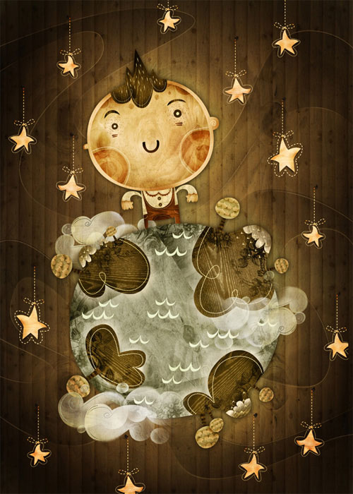 Alberto Cerriteno TheirWorldtheirChildren 20 Ilustraciones para cuentos infantiles