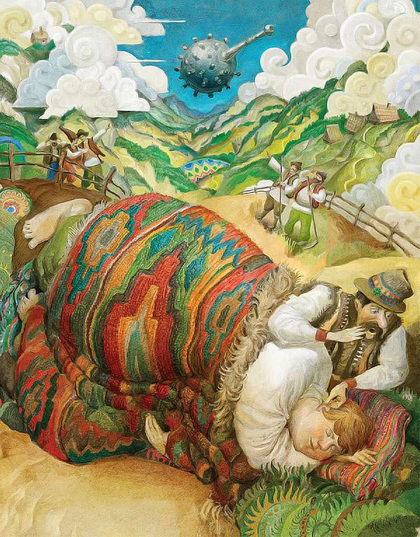 Ivan Sulima 20 Ilustraciones para cuentos infantiles