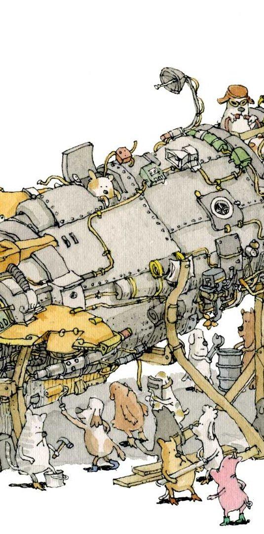Mattias Adolfsson Star dog 20 Ilustraciones para cuentos infantiles