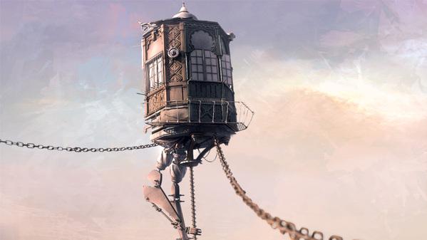 mundos steampunk Maxim-Goudin