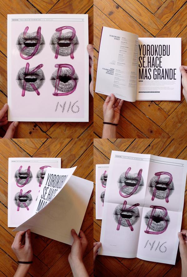 Yorokobu Magazine / Issue #16 Cover / 2011