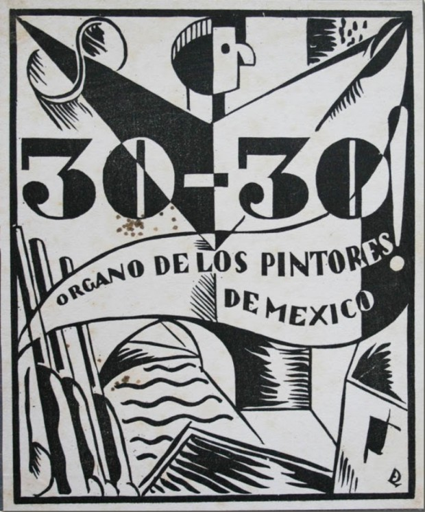 30 30 órgano de los pintores de México 620x747 El gran Taller de Gráfica Popular