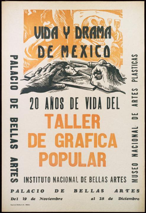 Alberto Beltran 1957 El gran Taller de Gráfica Popular