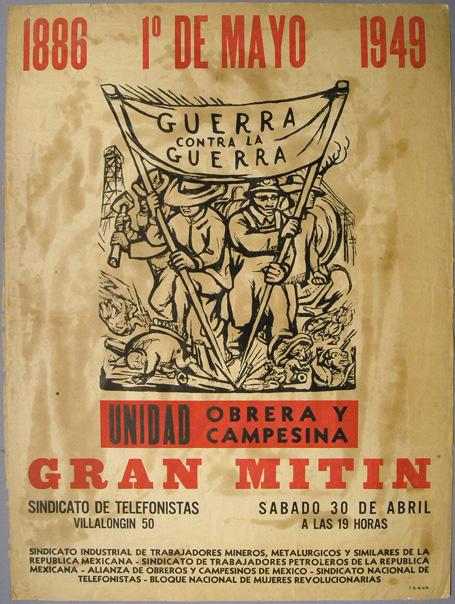 Alfredo Zalce 1949 El gran Taller de Gráfica Popular