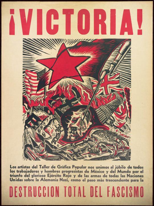 Angel Bracho 1945 El gran Taller de Gráfica Popular