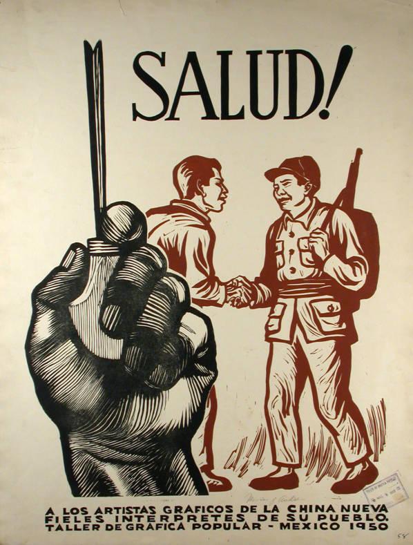 Anonimo 1950 El gran Taller de Gráfica Popular