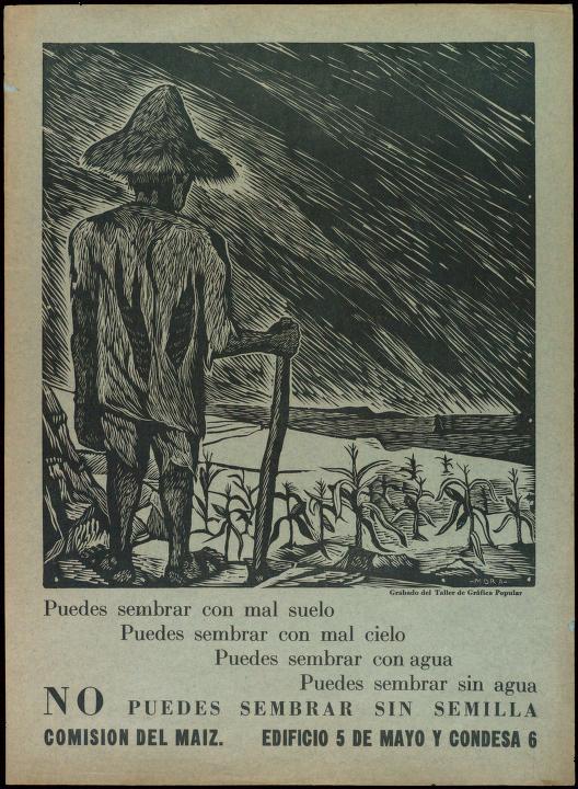 Francisco Mora 1950 El gran Taller de Gráfica Popular