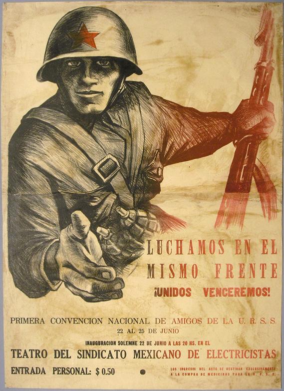 Leopoldo Mendez 1941 El gran Taller de Gráfica Popular