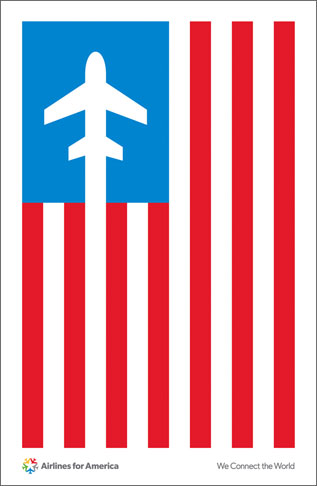 Airlines for America2 Pentagram, 40 años de diseño