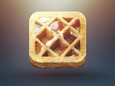 Waffle iPhone icon por Eddie Lobanovskiy