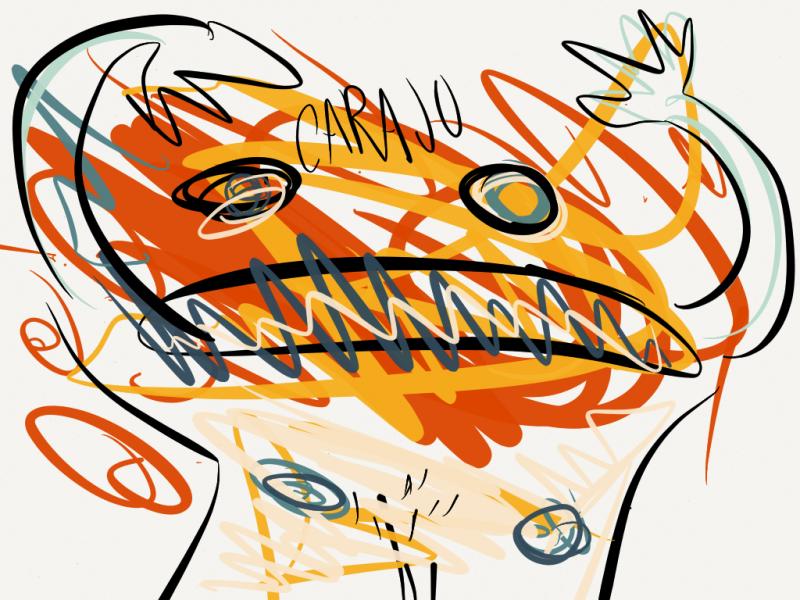 Ilustracion en paper