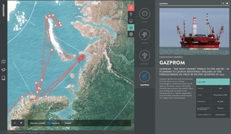 Greenpeace 1 800x463 Los mejores sitios web del 2013