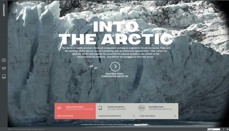 Greenpeace 800x460 Los mejores sitios web del 2013