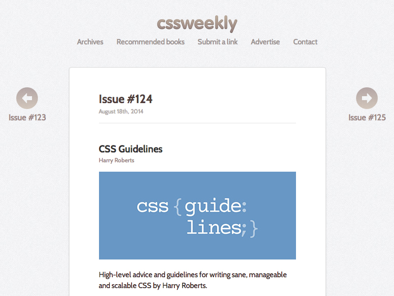 Issue-#124---CSS-Weekly