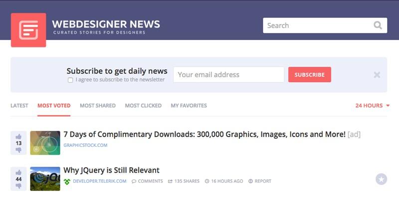 webdesignernews
